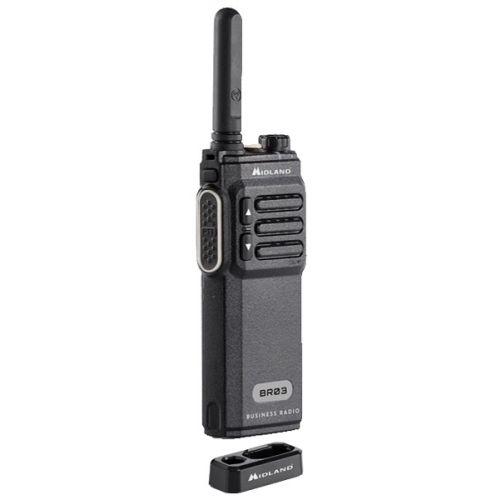 Midland BR03 UHF PMR446 Slim line portofoon