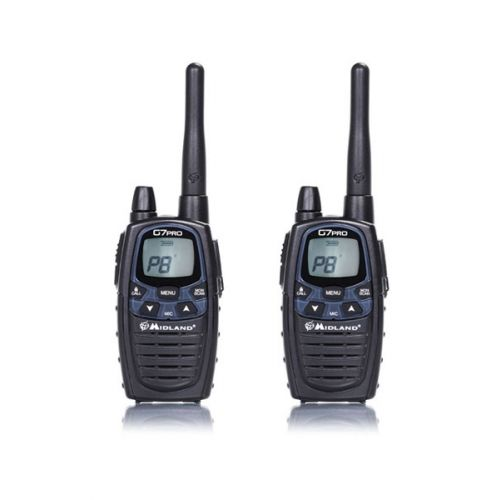 Midland G7 Pro Twin Pack set PMR446 + LPD Portofoons