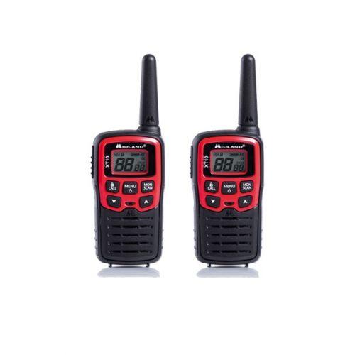 Midland XT10 PMR446 Walkie Talkie set