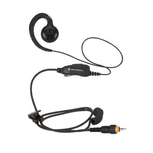 Motorola HKLN4602A oortje met oorhaak M10 1-Pin aansluiting voor CLK446 en CLP446
