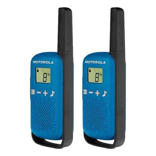 Motorola Talkabout T42 Blauw Twin Pack PMR446 Portofoons