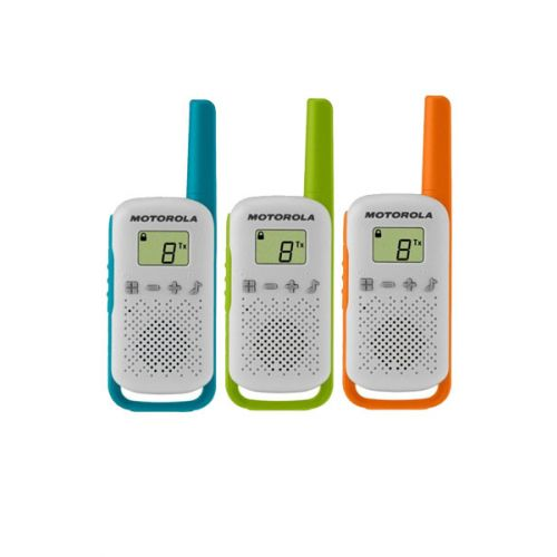 Motorola Talkabout T42 Triple Pack PMR446 Portofoons