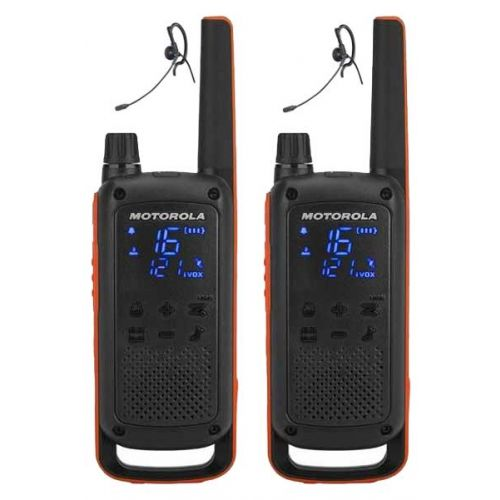 Motorola Talkabout T82 Extreme Twin Pack PMR446 Portofoons met headsets