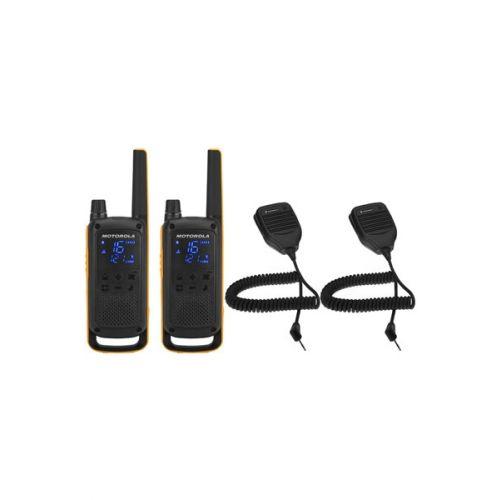 Motorola Talkabout T82 RSM Extreme Twin Pack met handmicrofoons