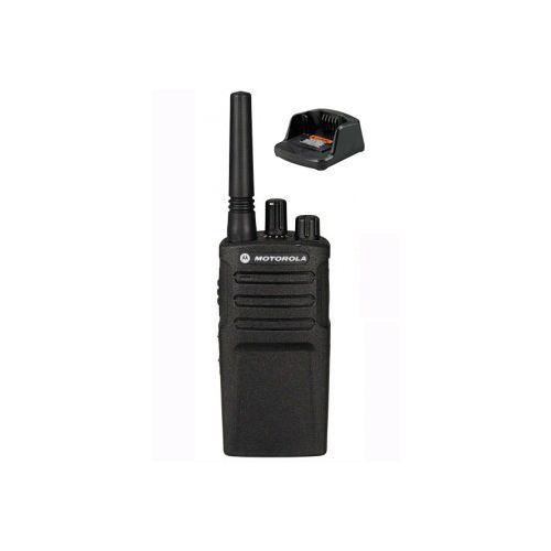 Motorola XT420 UHF IP55 PMR446 Portofoon met tafellader