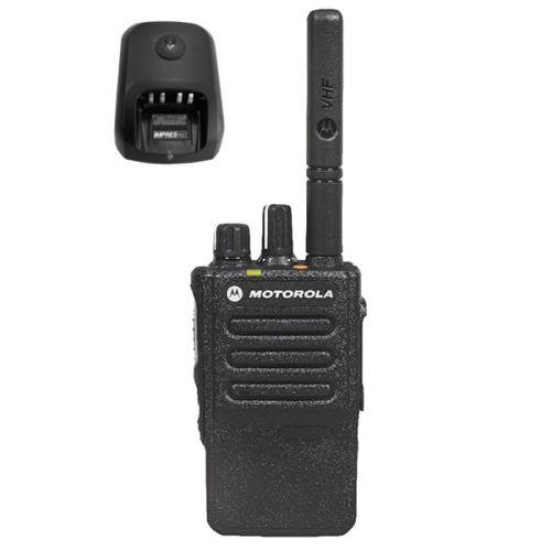 Motorola DP3441E UHF DMR IP68 5watt met tafellader