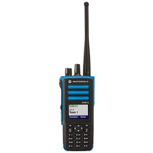 Motorola DP4801 EX ATEX VHF DMR IP67 1watt