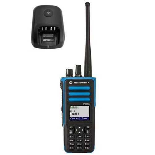 Motorola DP4801 EX ATEX VHF DMR IP67 1watt met tafellader