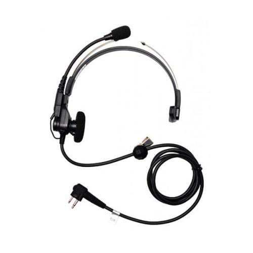 Motorola PMLN6538A headset met boom mic voor VOX geen PTT M1 2-Pins aansluiting