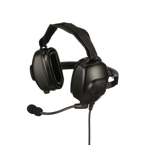 Motorola PMLN6854A heavy duty headset met microfoon en noise cancelling M1 2-Pins aansluiting