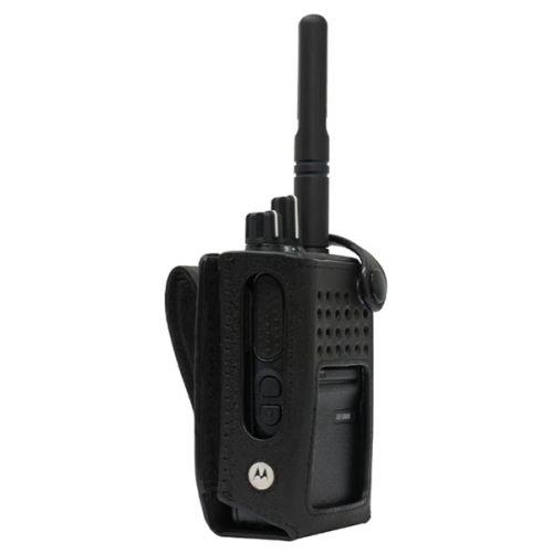 Motorola PMLN7536A lederen draagtas voor DP3441 en DP3661 serie