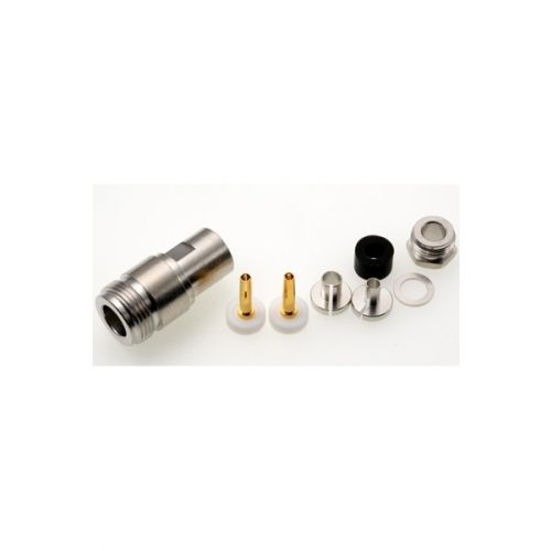 N Female N-22-155 TA Connector Soldeer voor 5mm kabels