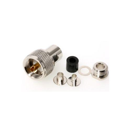 PL-5 Connector Waterdicht Soldeer voor 5mm kabels