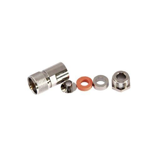 PL Male Connector UHF Speciaal Soldeer 15mm kabels