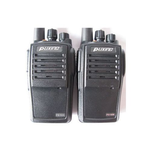 Puxing PX-508 VHF IP67 Compact en Waterdicht 5Watt set