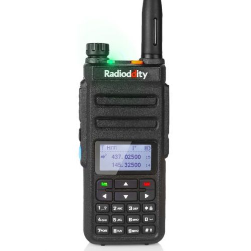 Radioddity GD-77 Dualband DMR Tier2 5Watt met GRATIS prog kabel