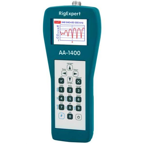 RigExpert AA-1400 Antenne Analyzer 0,1-1400 Mhz
