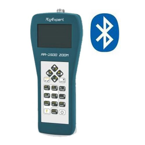 Rigexpert AA-1500 Bluetooth Zoom Antenne Analyzer 0,1-1500 Mhz