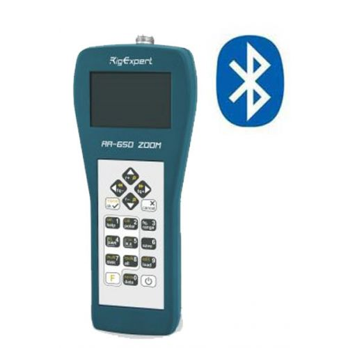 Rigexpert AA-650 Bluetooth Zoom Antenne Analyzer 0,1-650 Mhz