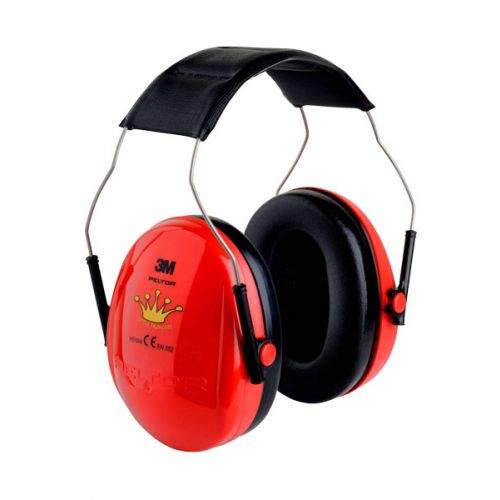 Rode 3M Peltor 27 db gehoor bescherming  voor kids H510AK-613-RD