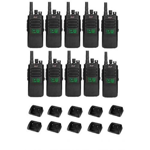 Set van 10 stuks TYTERA MD-680D DMR portofoons met display