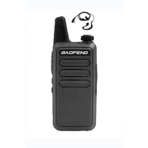 Baofeng BF-R5 dunne uhf mini portofoon 5 watt Zwart