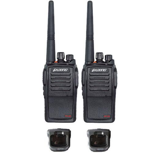 Set van 2 Puxing PX-508 UHF IP67 Compact en Waterdichte Portofoons