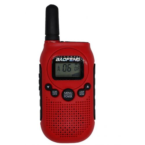 Baofeng BF-T6 PMR446 mini Walkie Talkie Rood