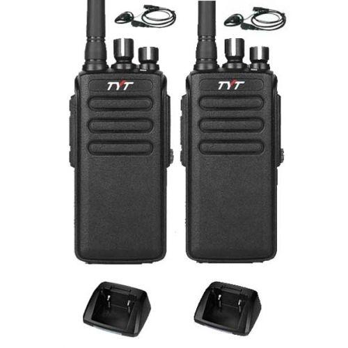 Set van 2 stuks TYTERA MD-680 DMR portofoons met D-shape oortje