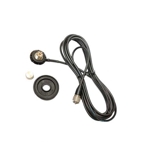 Sirio SG-AC/u PL antenne voet compleet met 4meter kabel en gemonteerde PL connector