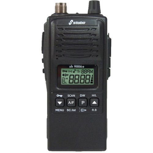 Stabo XH-9006e robuuste 27mc Portofoon 4Watt Am en FM