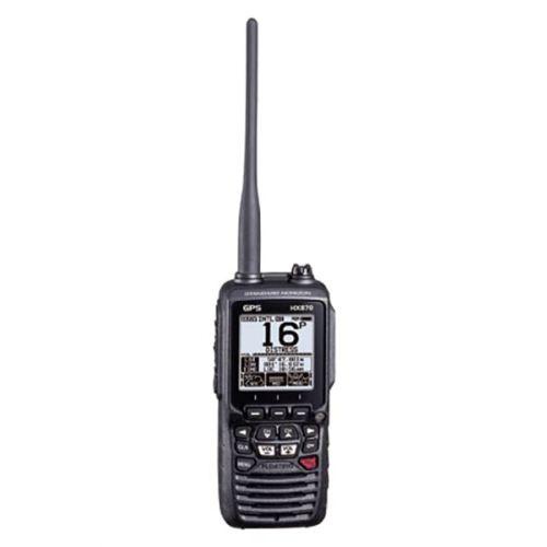 Standard Horizon HX-870E Hand Marifoon IPX8 met GPS, DSC, ATIS en active noise cancelling