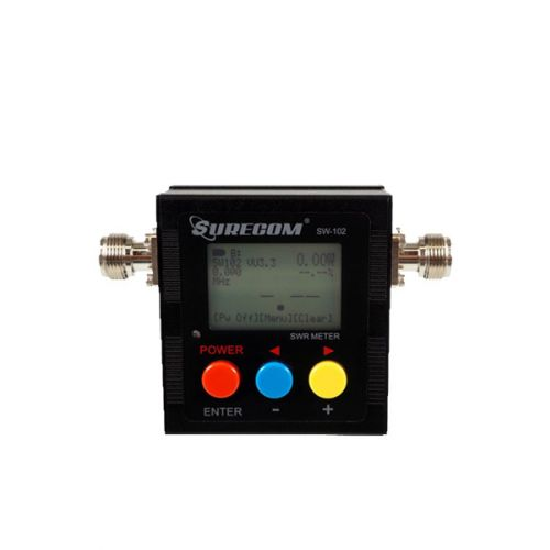 Surecom SW-102 Digitale SWR / Power en frequentie Meter