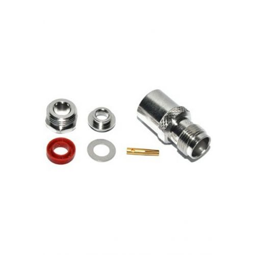 TNC Female Connector soldeer voor 5mm kabels