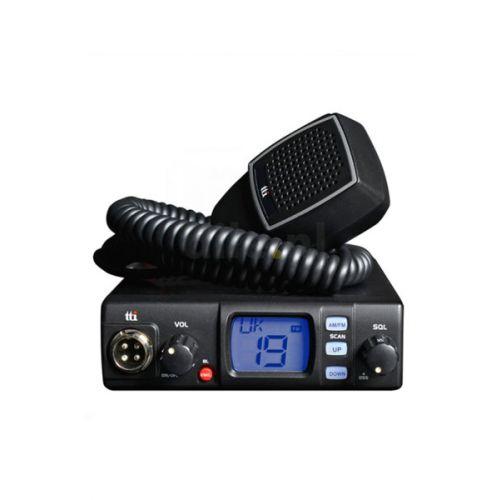 TTI TCB-560 compacte Multi Channel AM en Fm 27mc Tranceiver 12 / 24 volt