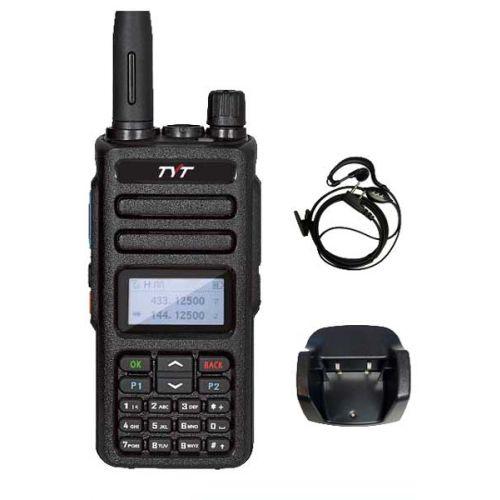 TYT MD-750 Digitaal Dualband DMR VHF en UHF Tier2 5Watt met GRATIS prog kabel