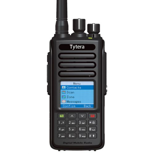 TYTERA MD-UV390 Dualband DMR Tier2 5Watt IP67 met GRATIS Prog kabel
