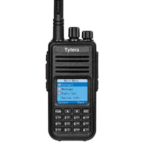 TYTERA MD-380 UHF DMR GPS FPP Tier2 5Watt met GRATIS Prog kabel