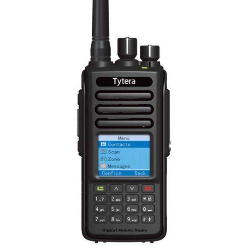 TYTERA MD-390 DMR UHF Tier2 5Watt IP67 met GRATIS Prog kabel