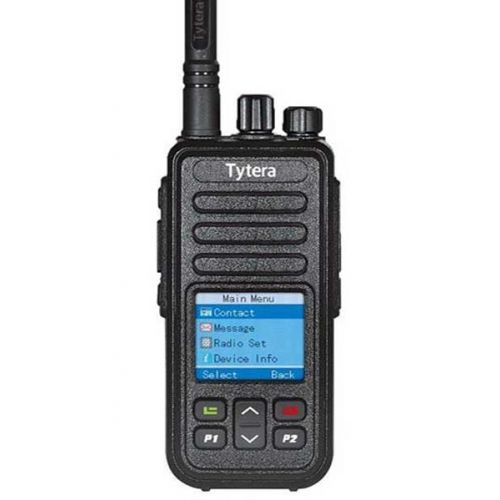 TYTERA MD-446 UHF DMR Full Color Tier2 5Watt met GRATIS Prog kabel OP=OP
