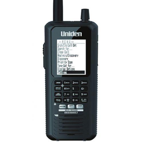 Uniden Bearcat UBCD3600XLT Scanner Analoog en Digitaal