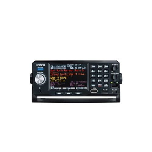 Uniden SDS-200E True I/Q Scanner Analoog en Digitaal wide band + Act DMR / NXDN / ProVoice