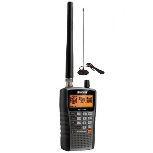 Wielren pakket Uniden Bearcat UBC 125 XLT Scanner en antenne