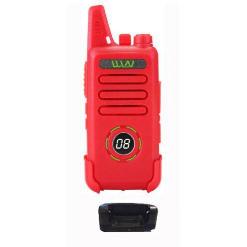 WLN KD-C1 Plus Rode mini Portofoon met display 5Watt OP=OP