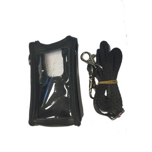 Wouxun KG-819 Lederen draagtas met draagriem