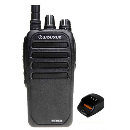 Wouxun KG-D828 Dualband DMR Tier2 VHF en UHF 5Watt IP55