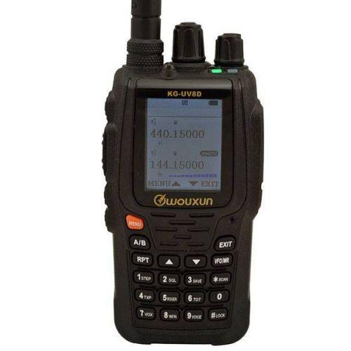 Wouxun KG-UV8D Plus met scrambler Dualband IP55 5Watt Breedband