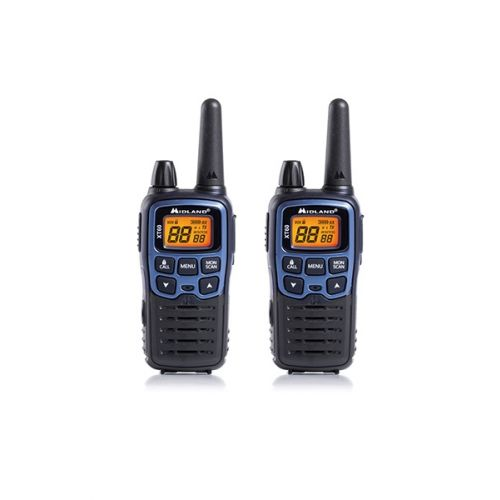 Midland XT60 PMR446 Walkie Talkie set