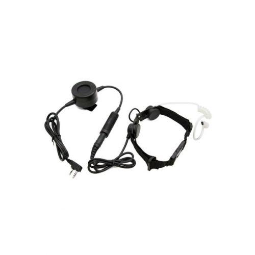 Z-Tactical Z003 Keel Microfoon Headset IP67 waterdicht met grote PTT 2-Pins K-Type