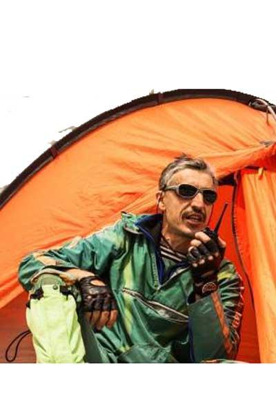 Campingbeheerders werken met portofoons